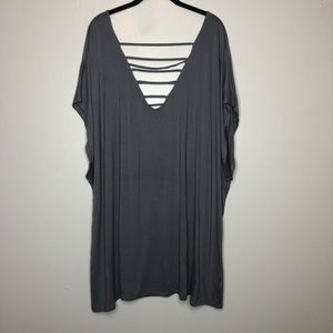 NWOT Torrid Super Soft Strappy V Neck & Back Tee 5